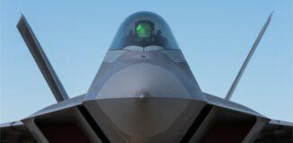 F-22 Raptor fighter aircraft