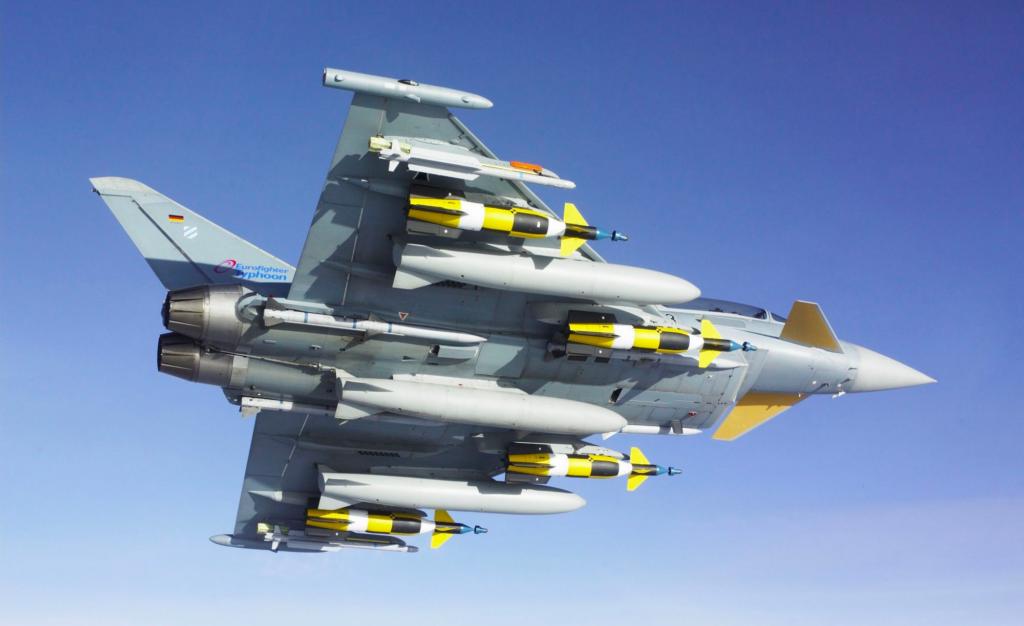 German Air Force's Quadriga Tranche 4 Eurofighter Typhoon