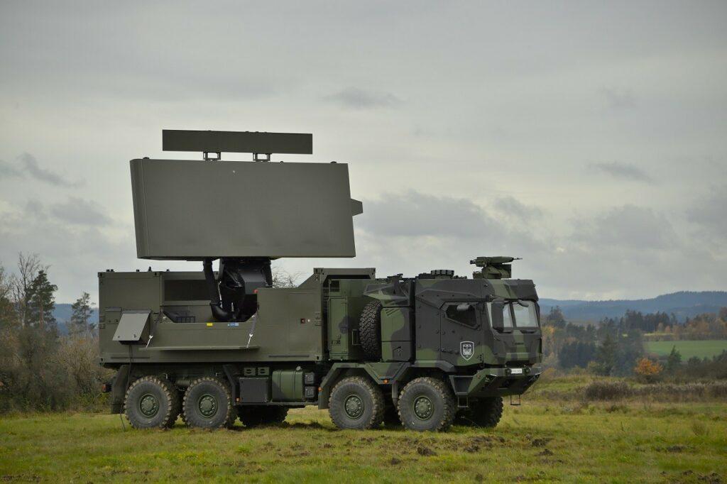 Rheinmetall HX3 Radar