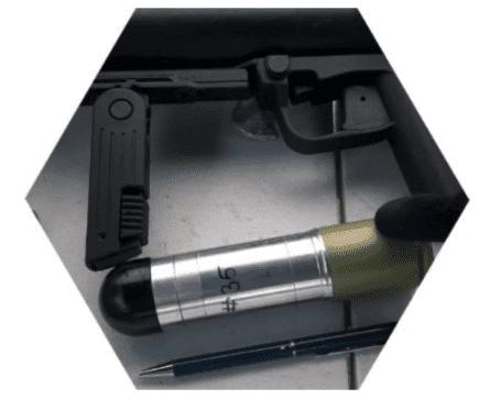 ETL Stand-Off Breaching Grenade